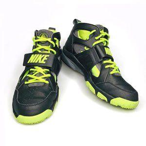 Nike Zoom Huarache TR Mid Black Volt Sneakers